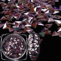 3D Чешуя дракона голографик пурпурный